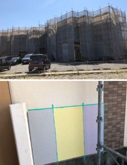 コスモPART2 外壁塗装工事 薩摩不動産